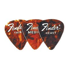 Fender 351 Standard Guitar Picks (€21) ❤ liked on Polyvore featuring fillers, music, instruments, accessories and other