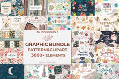 Flora Pattern, Butterfly Pattern, Cute Pattern, Flower Patterns, Happy Fruit, Summer Clipart, Bohemian Pattern, Seamless Textures, Cozy Christmas