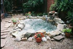 Garten Pool selber bauen - eine verblüffende Idee!