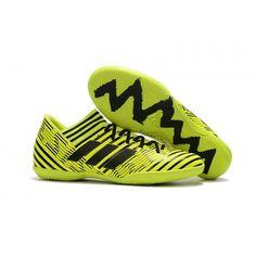 competitive price a0645 04914 Pas Cher Adudas Nemeziz Tango 17.3 IC Chaussures de football vert noir