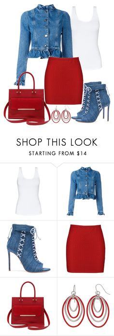 """""""Untitled #1363"""" by gallant81 ❤ liked on Polyvore featuring Talula, J.W. Anderson, Oscar Tiye, Boohoo and M&Co"""