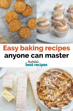 Are You A Beginner Baker? Or on the other hand Are You Looking For A Quick Baking Recipe? From Banana Cake To Caramel Slice These Easy Baking Recipes Will Have Guests Lining Up For Seconds. Easy Baking Recipes, Cookie Recipes, Dessert Recipes, Recipe Master, Snack Platter, Butter Cookies Recipe, Australian Food, Nutritious Snacks, Easy Desserts