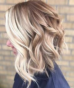 Balayage gives an impression of dark hair gone lighter in the sun. If you want to wear your hair down, A medium-length layered hairstyle is the best choice