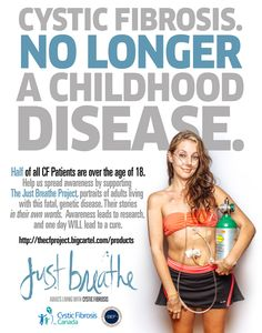 Just Breathe Project #cysticfibrosis