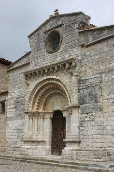 Iglesia de Santa María de Wamba, Valladolid.