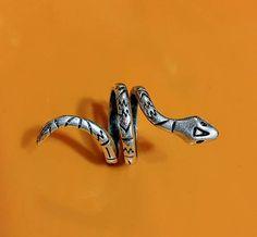 Snake Rings Adjustable Snake Ring Tribal snake ring Boho
