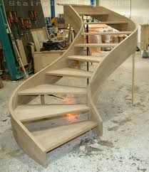 Image result for how to build a curved staircase