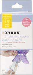 *Xyron Sticker Maker REFILL Permanent