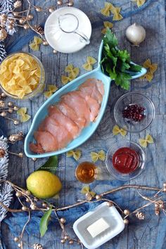 Smoked Salmon Pasta by @Vicaincucina | Farfalle al salmone, cognac e pepe rosa dal blog www.vicaincucina.com