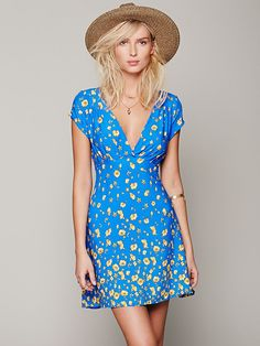Free People Ruby Tuesday Mini Dress at Free People Clothing Boutique