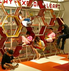 Learning stations support various teaching styles, improve student behavior, and are linked to classroom achievement. Classroom Design, Classroom Organization, Classroom Decor, Classroom Setting, Classroom Cubbies, Learning Stations, Learning Spaces, Learning Environments, Kids Library