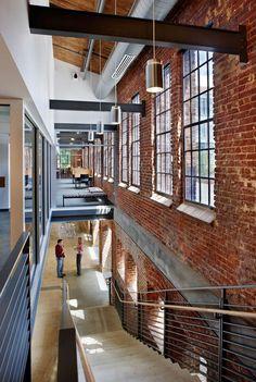 AECCafe.com - ArchShowcase - Park Shops Adaptive Reuse in Raleigh, North Carolina by Clark Nexsen