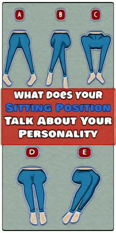 THIS IS WHAT YOUR SITTING POSITION REVEALS ABOUT YOUR PERSONALITY Wellness Tips, Health And Wellness, Health And Beauty, Health Fitness, Wellness Activities, Fitness App, Women's Health, Health Coach, Fitness Diet