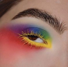 sugarpillcosmetics: @alexalink is a technicolor watercolor #fashion #makeup #love #photography #style #instagood #beauty