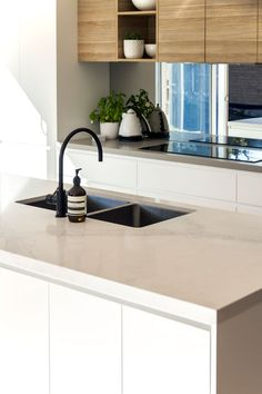 Installing the Caesarstone Benchtops: George & Tenielle's First Home Renovation - Part Three