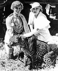 Mae West and tiger trainer Mabel Stark