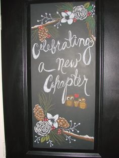 "another door design for the winter baby shower if we go with a ""literature"" theme? PB n E new chapter?"