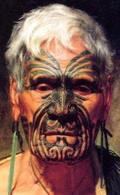 Maori, New Zealand portrait photography Anthropologie, Pintura Tribal, Ta Moko Tattoo, Maori Tattoos, Maori Face Tattoo, Foto Picture, Tribal People, Maori People, Maori Art