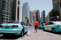 Qatar's first female-driver taxi service now open for bookings ~ Elan Magazine