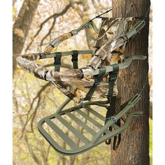 tree stand | ... Climber Tree Stand - 450113, Climbing Tree Stands at Sportsman's Guide