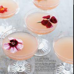 Spring cocktail marthastewart.com
