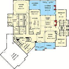 Designer Mountain Lodge - 36030DK | Architectural Designs - House Plans