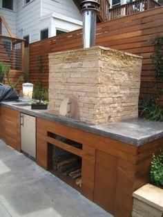 Outdoor Kitchen, Pizza Oven - Outer Space Landscape Architecture | San Francisco Bay Area | Portfolio | Potrero Hill
