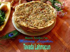 Tavada Lahmacun (Yemek Tarifleri)