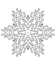christmas lovely christmas snowflakes pattern coloring page - Christmas Snowflake Coloring Pages