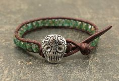 Hey, I found this really awesome Etsy listing at https://www.etsy.com/listing/205200270/sugar-skull-jewelry-dia-de-los-muertos