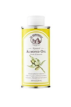 La Tourangelle Roasted Almond Oil - Delicate and fresh - All natural, Expeller-pressed, Non-GMO, Kosher - 8.45 Fl. Oz. ^^ Review more details @: at Baking Ingredients.