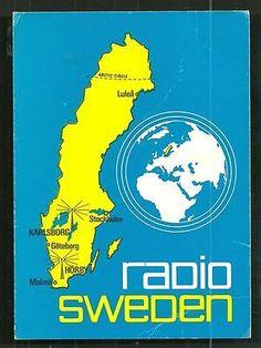 Radio Sweden QSL 1978