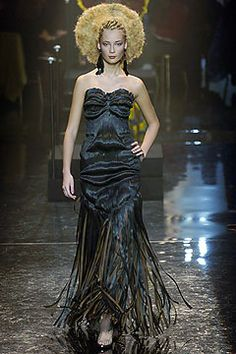 Gaultier Spring 2005 Couture. Hahaha!!! I love a man with a sense of humor