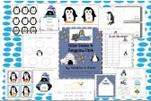 Polar Bears & Penguins Unit: Literacy & Math Centers product from Kreative-in-Kinder on TeachersNotebook.com