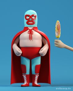 Nacho Libre, gemaakt door de A large evil corporation uit Bath, UK.