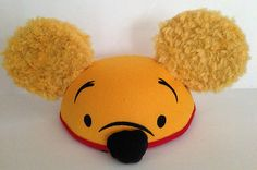 Disney Theme Park Authentic Youth Child Size Pooh Mickey Mouse Ears Hat NEW