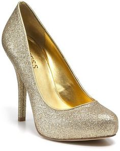ShopStyle: GUESS Pumps - Geenly Glitter