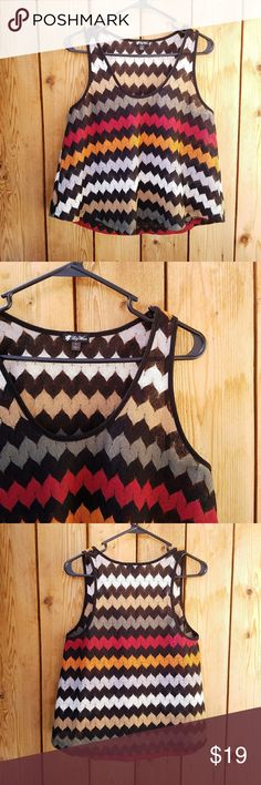 Lily White Knit Chevron Top Excellent condition  Feel free to ask me any additional questions! No trades, or modeling. Reasonable offers are considered.?Bundles 3+ are 15% off!! Happy Poshing Lily White Tops