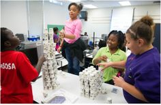 It's about the kids, not the teacher - Elemetnary Missions lab in Omaha, NE changes teacher's view of science Stem Curriculum, Classroom Solutions, Hands On Learning, What Happens When You, Science Classroom, Teacher, Student, School, Lab