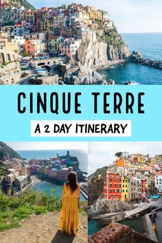 Cinque Terre National Park is one of most romantic and beautiful places in both Italy and Europe, thanks to the 5 colourful towns/villages of Riomaggiore, Manarola, Corniglia, Vernazza and… Travel Destinations Bucket Lists, Destinations D'europe, Italy Travel Tips, Places To Travel, Time Travel, Greece Travel, Cinque Terre Italy, Voyage Europe, Destination Voyage