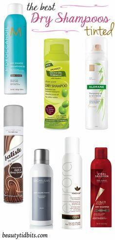 Best tinted dry shampoos for dark hair
