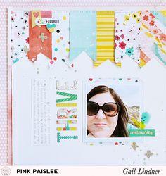 Thrive Layout @gail_lindner @pinkpaislee #pinkpaislee #fancyfree #DIY #scrapbooking