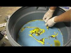 How to Swirl Paint a Guitar