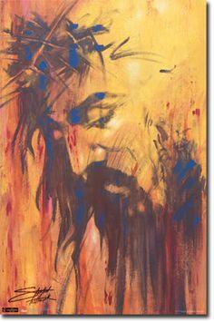 Fishwick - Jesus Poster
