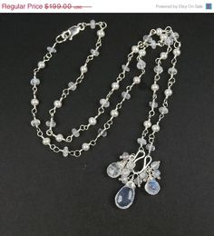 SALE 35 OFF Wedding NecklaceBridal Jewelry by DoolittleJewelry