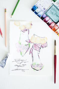 Victoria-Riza Fashion Illustrator   Ryan Lo Fall 2016 RTW