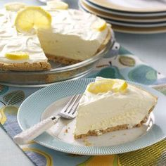 Lemonade Icebox Pie Recipe from Taste of Home -- shared by Cheryl Maczko of Arthurdale, West Virginia