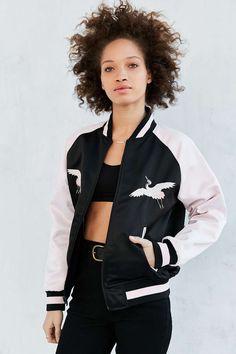 b6b35344055a adidas Originals By Rita Ora Reversible Souvenir Bomber Jacket Sweater  Jacket