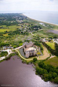 Photo aérienne de Château de Suscinio - Morbihan (56) Brittany, Golf Courses, Castle, Kayak, Ciel, Water, Outdoor, Culture, Stars
