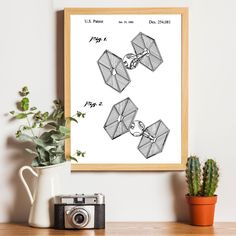 The ornamental design for a toy spacecraft, substantially as shown. 1 is a front perspective view of a toy spacecraft; and FIG. 2 is a rear perspective view thereof. Star Wars Decor, Star Wars Art, How To Age Paper, Tie Fighter, Vintage Art Prints, Presents For Friends, Patent Prints, Paper Background, Special Gifts